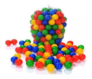 500 Pelotas Plasticas De Colores Vivos Piscina