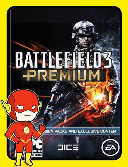 Battlefield 3 Premium Edition Pc - Origin Key (envio Flash)