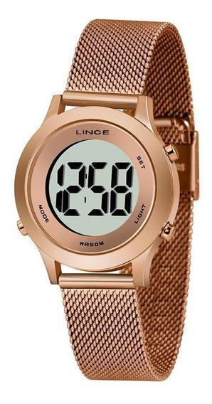 Relógio Feminino Lince Digital Sdph113l-bxrx