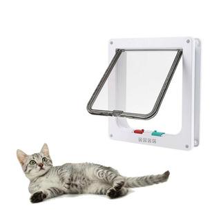 Abs Blanco 4-way Magnética Con Llave Gato Gatito Perro -3682