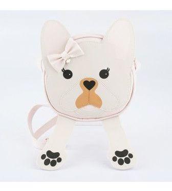 Bolsa Infantil Pampili Bulldog Rosa Bale Lançamento Origial