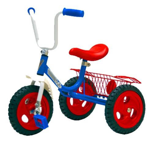 Imagen 1 de 1 de Triciclo Katib Lujo 575 azul