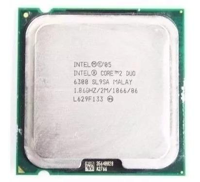 Processador Core 2 Duo 1.86ghz 2m 1066 Lga 775 E6300