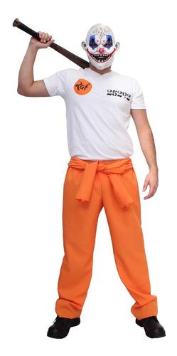 Imagen 1 de 2 de Disfraz De Payaso Clown Gang Raf Costume Halloween