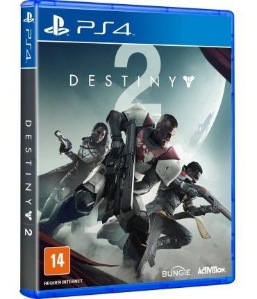 Jogo Destiny 2 Edição De Day One - Ps4 Midia Física