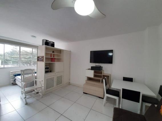 Kitnet Em Centro, Guarujá/sp De 45m² 1 Quartos À Venda Por R$ 240.000,00 - Kn362156