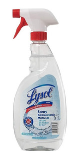 Spray Lysol Desinfectante En Aerosol Antibacterial 650 Ml