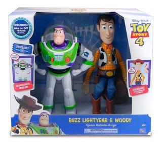 Toy Story 4 Figuras Buzz Y Woody Talking (1744) 64427
