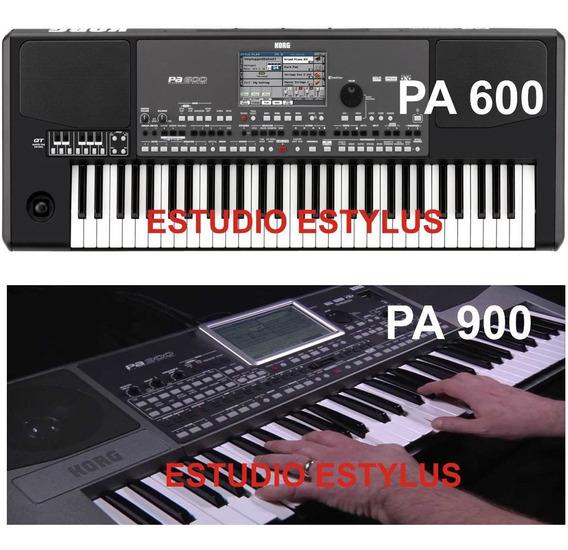 Ritmos Sampleados Korg Pa600 Pa900