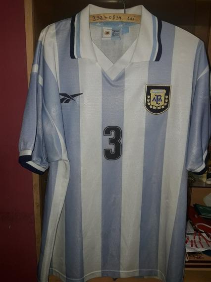 Camiseta De Argentina Reebok Utilería Talle L