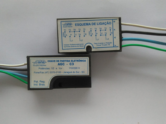 Chave De Partida Eletronica Agc C3 1 Cv