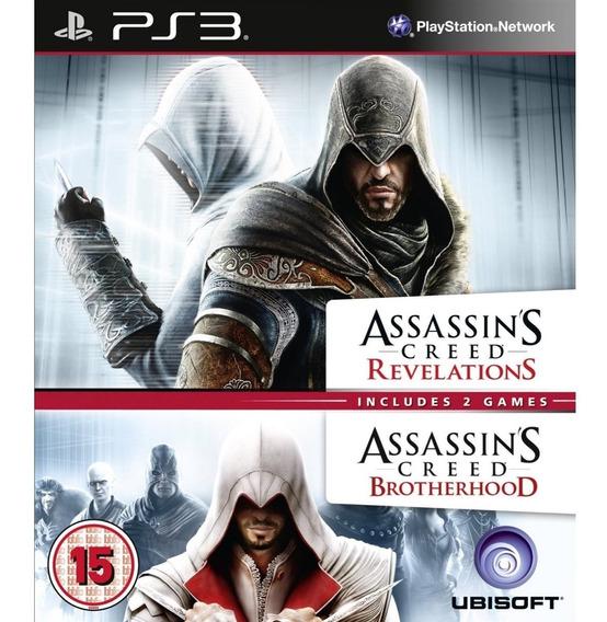 Assassins Creed Brotherhood + Assassins Creed Revelation Ps3