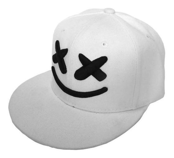 Gorra De Moda Marshmello, Bordada Diseño De Malvavisco