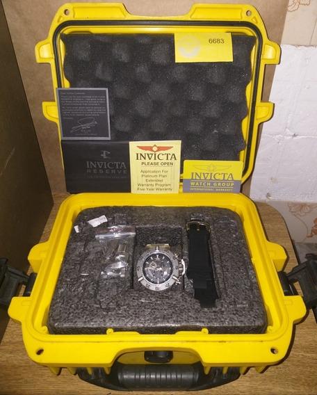 Relógio De Pulso Invicta Subaqua Noma 3 Na Caixa Completo