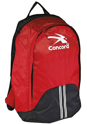Concord Backpack Casual Tela Plastico Rojo Niño N67915 Udt