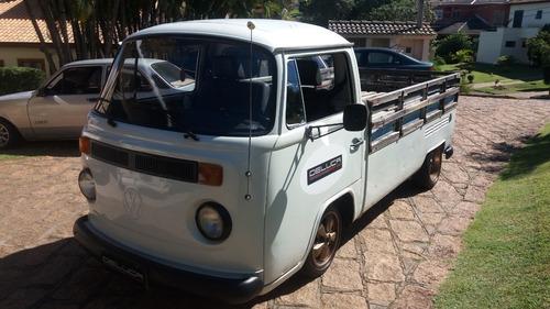 Imagem 1 de 15 de Kombi Pickup Cabrita 1986/87 Aceito Troca