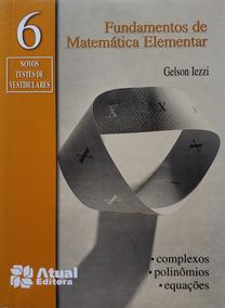 Fundamentos De Matemática Elementar Vol. 6 Novo 7ª Edição