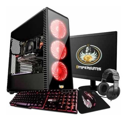 Pc Gamer Completo Amd A4 6300 3.9ghz 1mb Radeon Hd 7480d Bf4
