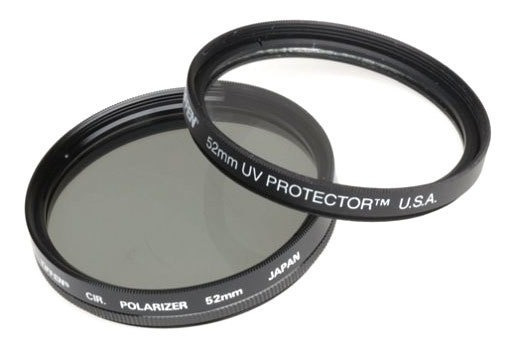 Kit De Filtro Tiffen Uv + Plc 52mm