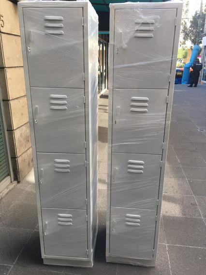Lockers Casilleros 4 Puertas Para Exigentes Envíos D.f.