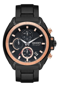 Relógio Masculino Casual Preto Mpssc011-p1px Orient