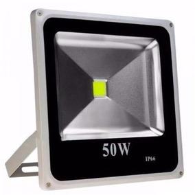 Refletor De Led 50 Watts Bivolt 110 E 220v Branco