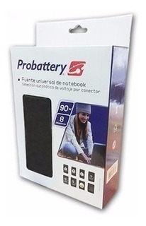 Cargador Universal Notebook 90w Probattery Voltaje Automatic