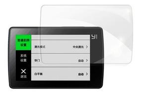 Conjunto De Película Da Lente E Tela De Lcd - Xiaomi Yi 2 4k