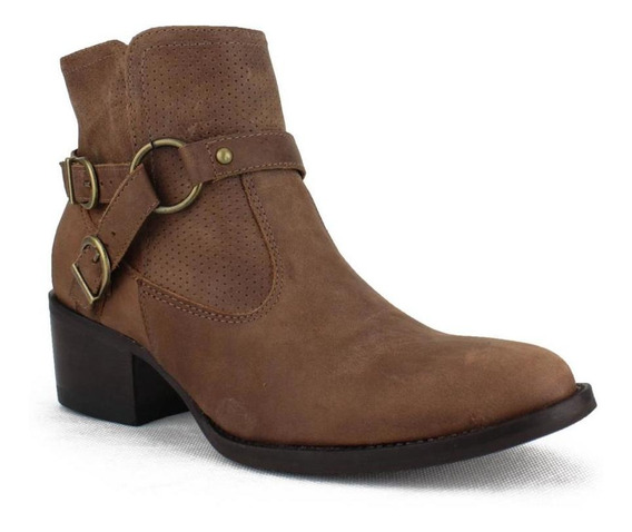 Bota Country West Country Feminina Dallas Taupe