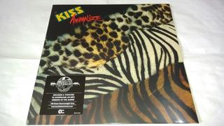 Lp Kiss Animalize Vinil Novo E Lacrado Eu