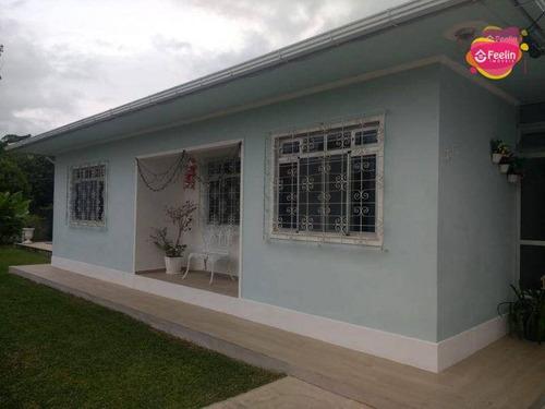 Imagem 1 de 30 de Casa Com 3 Dormitórios À Venda, 107 M² Por R$ 720.000,00 - Ribeirão Da Ilha - Florianópolis/sc - Sc - Ca0160_feelin