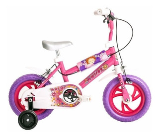 Bicicleta Bmx Halley Rodado 12 Para Nena 19020 En Cuotas!