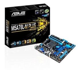 Placa Mãe Asus M5a78l-m Plus/usb3 Amd Am3+ Chipset 760g Am3