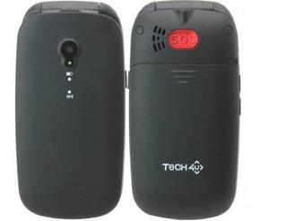 Celular Flip Cover Tech Shell Dual Sim Sos
