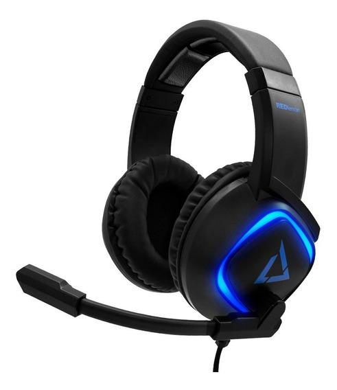 Redlemon Audífonos Gamer Sonido Estéreo Hd Micrófono Luz Led