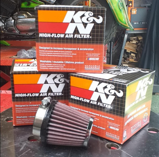 Filtro Aire K&n Conico Univesal _royal Enfield Classic
