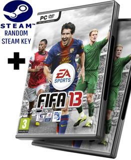 Random Steam Key + Fifa 13 2013 - Juego Pc Windows + Regalo