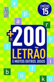 Mais De 200 Letrão E Muitos Outros Jogos - Nível Médio - Liv