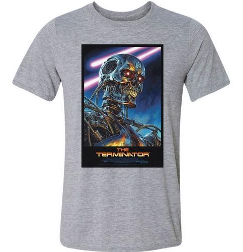 Imagem 1 de 3 de Camiseta Camisa Terminator Exterminador Arnold Geek Filme