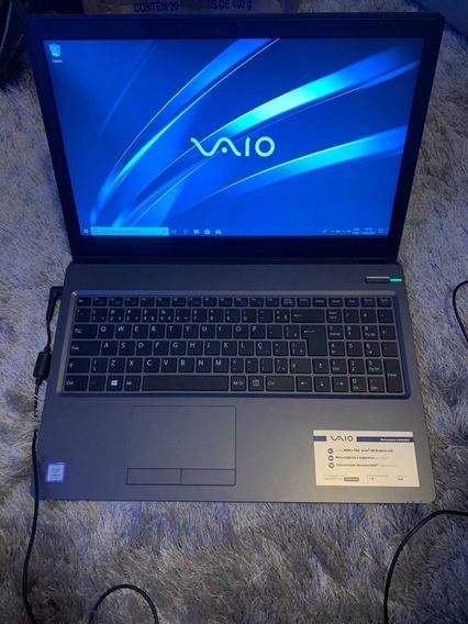 Notebook Vaio Fit 15s, I5-7200u, 8gb, 1tb, 15.6 $1,7 Cash
