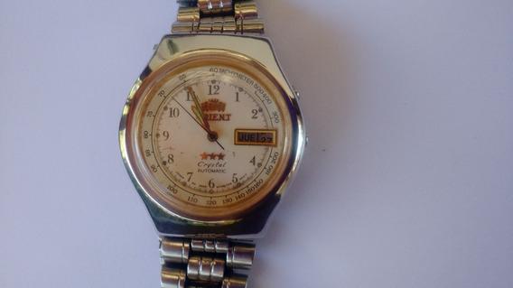 Relógio Orient Automático Raro Perfeito Branco