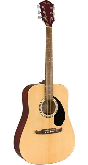 Fender Fa-125 Dreadnought Con Funda - Natural