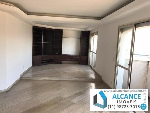 Residencial Barão De Lucena - Apartamento À Venda 160 M² 3 Quartos Em Perdizes Sp -  Rua Conselheiro Fernandes Torres Em  Perdizes   Alcance Imoveis - Ap00137 - 34206937