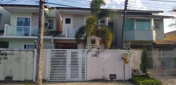 Casa Com 3 Dormitórios À Venda, 120 M² Por R$ 450.000,00 - Serra Grande - Niterói/rj - Ca0347