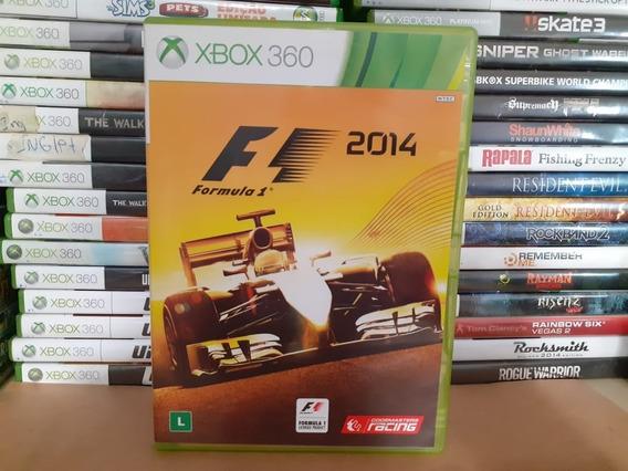 Jogo De Corrida Formula 1 2014 Xbox 360 Original Português