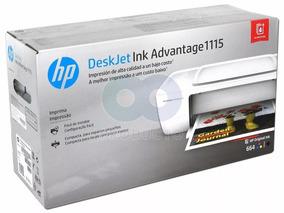 Impressora Hp Deskjet Ink Advantage 1115 - Tinta Colorida