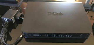Switch Dlink 24b Des-1024a 10/100 Poco Uso, Como Nuevo