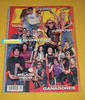 Anahi Ov7 Paulina Rubio Ov7 Magneto Revista Eres Premios