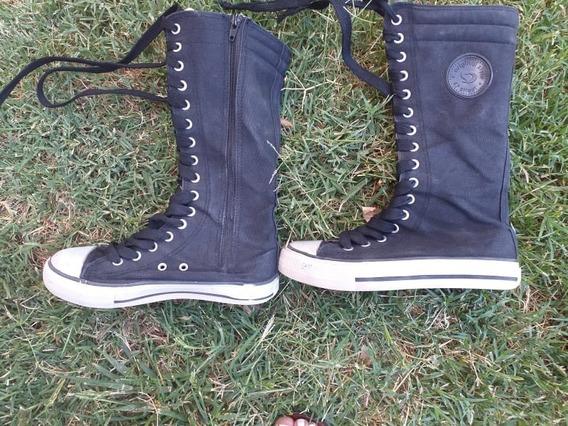 Zapatillas Altas Nº 34 - 47 Street- Botas