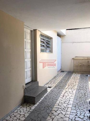 Imagem 1 de 19 de Sobrado Para Alugar, 134 M² Por R$ 2.800,00/mês - Vila Eldízia - Santo André/sp - So1145